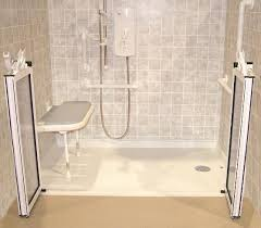 barrier free bathroom design barrier free showers home solutions usa brookfield wi