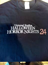 halloween horror nights 2002 hhn 24 merchandise halloween horror nights 24 horror night
