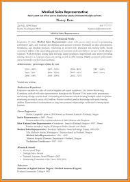medical sales resume sample medical device sales resume
