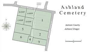 Pz Map Ashland Cemetery Ashland Oregon Burial Records