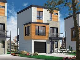 Narrow Modern House Plans 152 Best Modern House Plans U0026 Contemporary Home Designs Images On