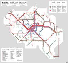 belgium and map unofficial map belgian rail network december transit maps
