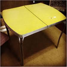 retro yellow kitchen table kitchen vintage yellow formica kitchen table astounding retro with