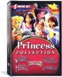 princess collection 5 movie set snow white cinderella pocahantas