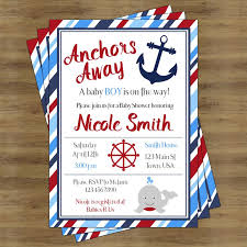 anchor theme baby shower sailor baby shower invitation best 25 sailor ba showers ideas on
