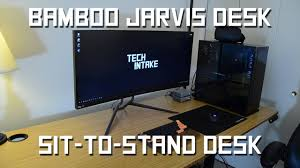 beautiful desk beautiful bamboo desk ergo depot jarvis desk review youtube