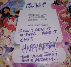 hilarious birthday card an uncle gave his 2 year old niece 91 9