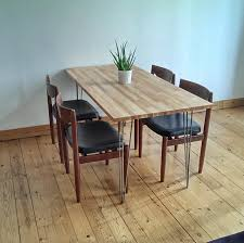 Dining Room Tables And Chairs Ikea Our Scandinavian Style Dining Table I Made With An Ikea Gerton