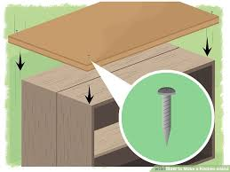 How To Build An Kitchen Island 4 Ways To Make A Kitchen Island Wikihow