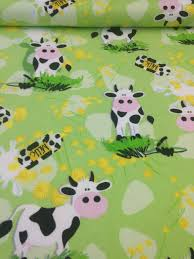 Backyard Baby Fabric by Cow Farm Barnyard Flannel Quilt Fabric Fabric By The Yard Baby