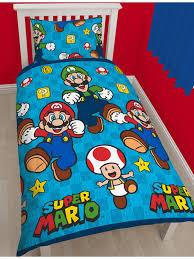 Mario Bedding Set Nintendo Mario Single Duvet Cover Bedding Set
