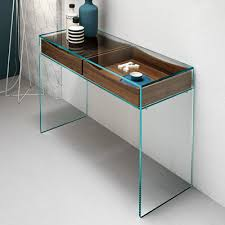 Glass Console Table Console Table Ideas Glass Console Table With Drawers Console