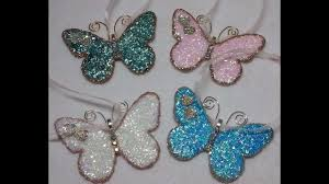 diy gorgeous vintage butterfly ornaments so easy
