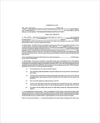12 printable lease agreement templates free sample example format