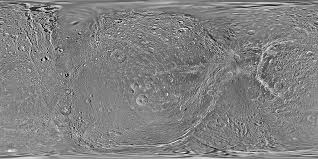 Moon Map Space Images Map Of Dione February 2010