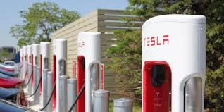 build a charging station tesla quietly upgraded its superchargers for faster charging now