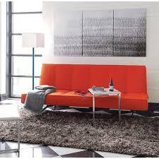 Orange Sofa Bed by Bright Orange Furniture Finds For A Vibrant Interior