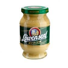 lowensenf mustard lowensenf medium hot mustard 250ml