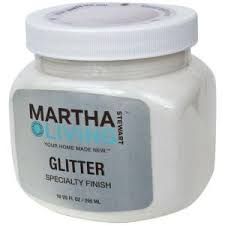 martha stewart living 10 oz icecap white glitter paint hd29 73 at