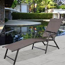Outside Patio Chairs by Outdoor Patio Furniture Chaise Lounge Ebay