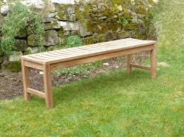 backless bench outdoor salisbury backless teak bench 150cm backless bench 150cm