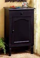 Black Wood Nightstand Black Nightstands Ebay