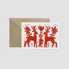 16 best block print christmas cards images on pinterest