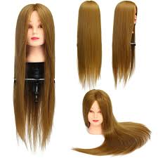 Hair Styling Classes Aliexpress Com Buy Cammitever Blonde Golden Mannequin Head Hair