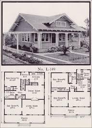 Craftsman Bungalow House Plans 1930s Galleryhipcom American Craftsman Bungalow Floor Plans
