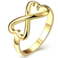 symbol of ring in wedding engagement wedding rings for cubic zirconia cz infinity ring