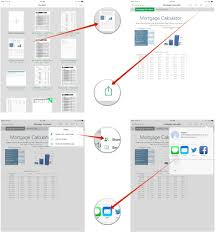 Numbers Spreadsheet How To Share A Pages Keynote Or Numbers File With Icloud Imore