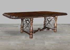 Dark Dining Table by Radiata Hardwood Solids Dining Table With Dark Oak Finish