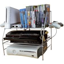 video game system organizer home design ideas