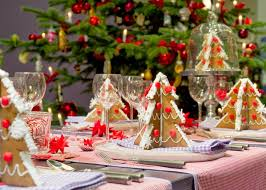 Christmas Lunch Table Decoration Ideas by 30 Pretty Christmas Table Decoration Ideas