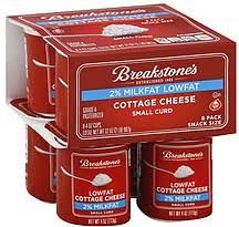 Friendship Cottage Cheese Nutrition by Breakstone Cottage Cheese Singles Nutrition Nutrition And Dietetics