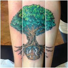 peace tree chagotattoos