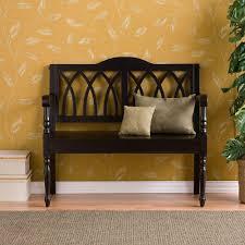 Storage Bench Chair Walker Edison Furniture Company Locker Style 48 In Black Metal