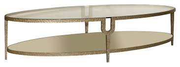 Glass Oval Coffee Table Oval Coffee Table