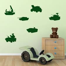 army tank wall stickers pack mirrorin army tank wall stickers pack