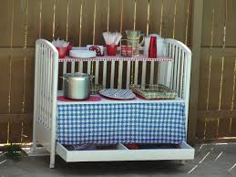 repurposed table top ideas edge repurposed crib 10 best ways to repurpose baby cribs www