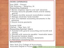 resume accounting assistant job accomplishment letter for work how to write a cv for an accounting assistant 11 steps