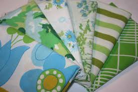 whimsie dots thursday u0027s upcycled bed linen fabric sale is underway