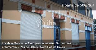 location maison nord particulier 3 chambres location maison à wimereux de 1 à 8 personnes iha 11924