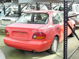 hyundai accent 1995 1995 hyundai accent used parts stock 003289