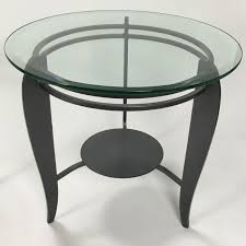 Glass Side Table by 88 Off Cb2 Cb2 Glass Side Table Tables