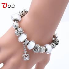 pandora bracelet styles images Crown charm pandora style bracelet for women goldfire shop jpg