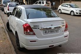 the automotive india maruti dzire tour modified to dzire vdi