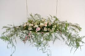 Hanging Flowers Ask The Experts Hanging Floral Designs With Campbell U0027s Flowers