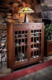 Mission Style Curio Cabinet Plans Mission Curio Cabinets Foter