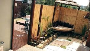fence ideas for small backyard small fence ideas design of small backyard fence ideas bamboo